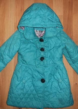 Куртка плащ на девочку 4-5 лет
