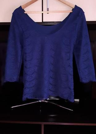Красивая кружевная блузка only раз.м