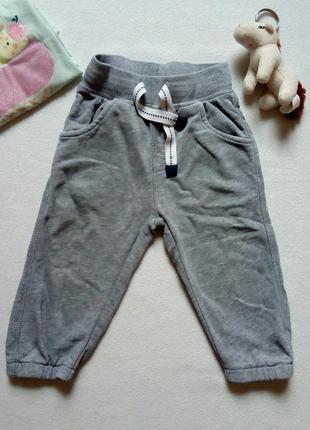 Серые спортивные штаны m&s
