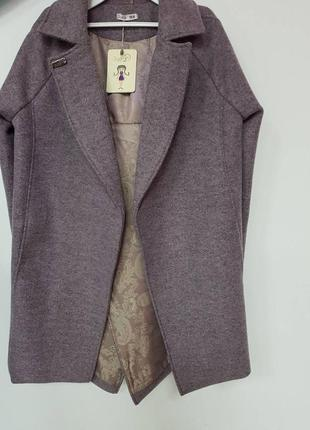 Пальто кашемир р 152, тм suzie в стиле casual