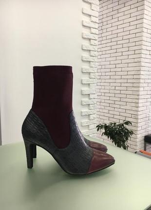 Сапоги, сапожки высокие, сапоги чулки,ботинки, демисезонные