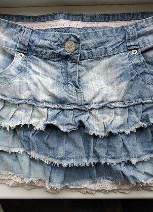 Denim co джинсовая мини юбка
