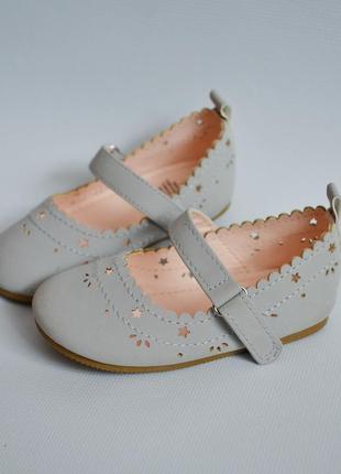 Классные туфельки h&m 18-19размер2