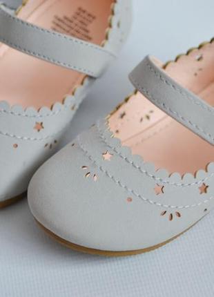 Классные туфельки h&m 18-19размер4