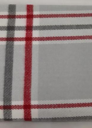 Шотландский серый в клетку плед, покрывало, 200×220, 100% качество