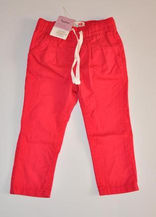 Детские хлопковые штаны impidimpi на рост 86-92