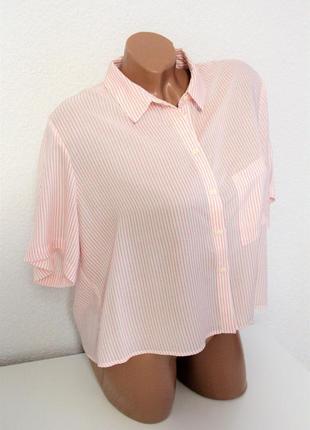 Очень крутая рубашка топ bershka
