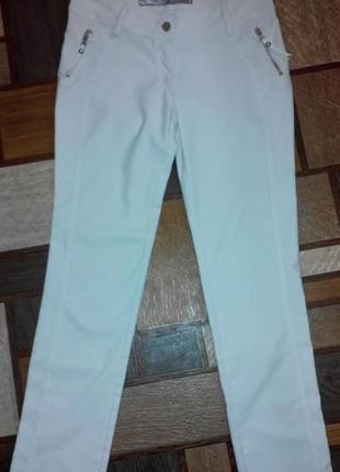 Турецкие джинсы, брюки со змейками