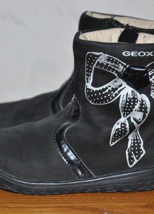 Детские кожаные сапоги geox