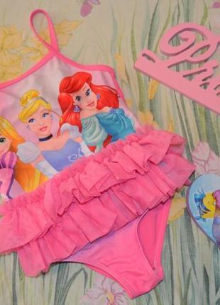 Купальник дисней принцессы 3-4 года