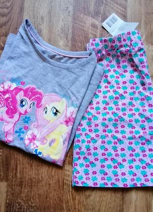 Пижама с шортиками my little pony