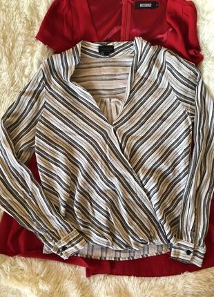 Стильная базовая рубашка/ блуза topshop