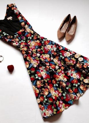 Платье с пышной юбкой в стиле винтаж ретро lindy bop
