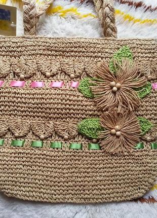 Новая женская летняя пляжная сумка