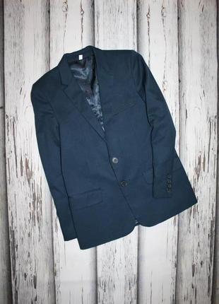 Классический пиджак m&s на 9-10 лет, 140 рост.