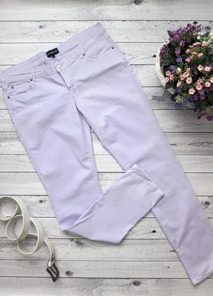 Джисы скинни фиолетовые, сиреневые штаны, брюки