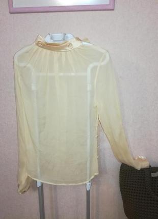 Шёлковая блуза rosannajulie, р.38 (s/m)