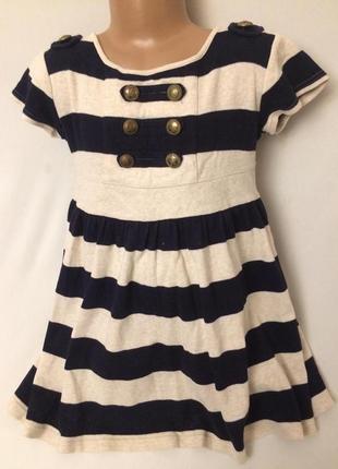 Стильное платье. размер -на рост 116 см , возраст 6 лет..