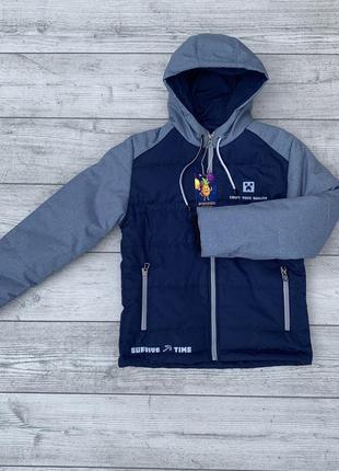 Демисезонная куртка для мальчика  от 8 до 12 лет minecraft