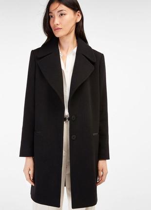 Отличное шерстяное пальто от дорогущего бренда