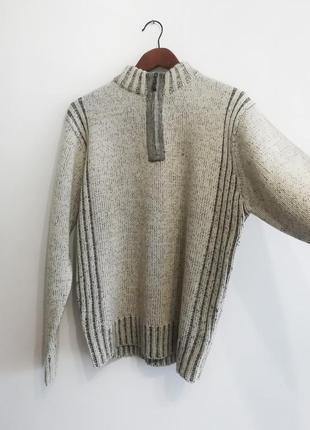 Удобный качественный свитер osaca tiger, m