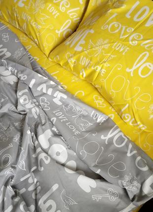 Двуспальный комплект постельного белья  бязь gold1 фото