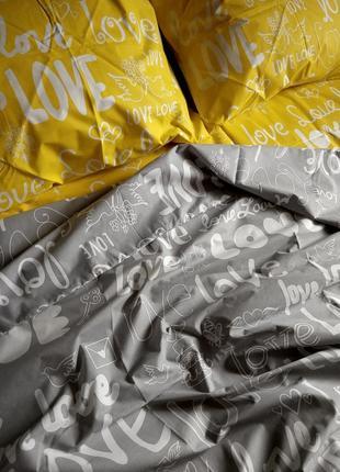 Двуспальный комплект постельного белья  бязь gold2 фото