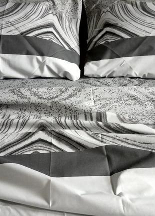 Двуспальный комплект постельного белья бязь gold2