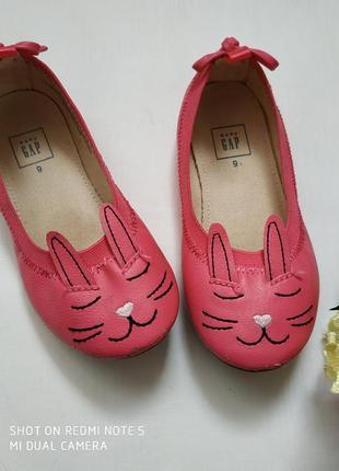 Балетки, туфли на девочку gap
