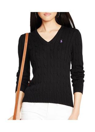 Отличный коттоновый свитер ralf lauren