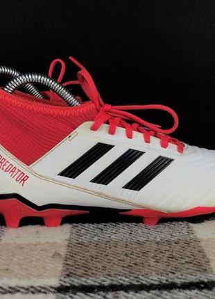 Детские бутсы adidas predator 18.3 original 35.5 шиповки бампы копочки 5aeea608461c8