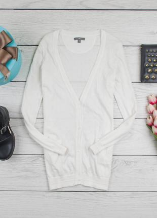 Белая  кофта джемпер  от американского бренда gap рр s