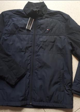 Мужская куртка-ветровка tommy hilfiger