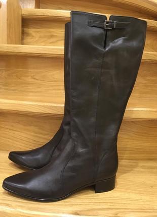 Шкіряні осінні чоботи від andre р-39