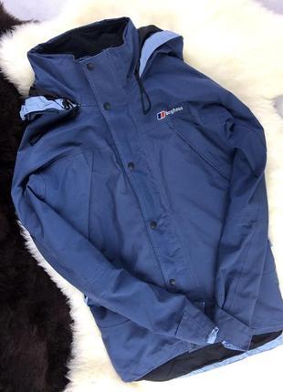 Куртка женская berghaus goretex (ветровка)