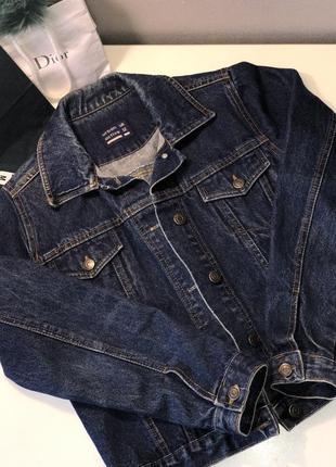 Джинсовка джинсовая куртка urban outfitters