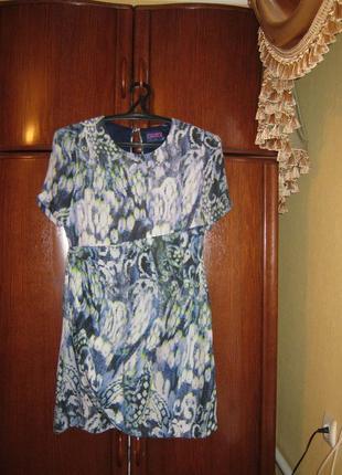 Платье lindex, 100% натуральный шелк, размер m/l