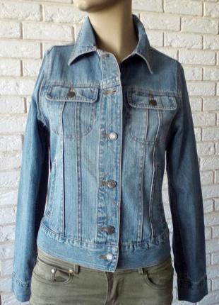 Крутой джинсовый пиджак 8 cherokee