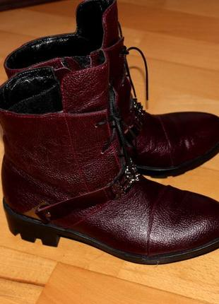 Ботинки 38р натуральная кожа