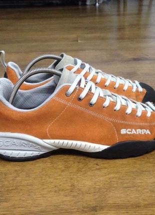 Крекинговы кроссовки  roberta scarpa натуральная замша р. 39.5, (стелька 25.5 см.)