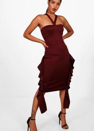Шикарное вечернее платье boohoo