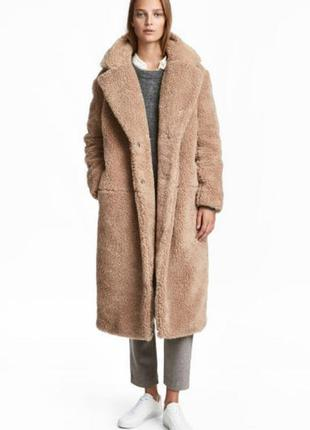 Шуба тедди/плюшевое пальто/teddy bear coat
