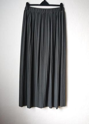 Длинная плиссерованая юбка