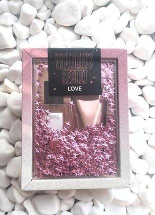 Подарочный набор love victoria's secret2 фото