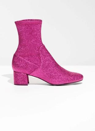 Яркие ботинки-чулки🔥