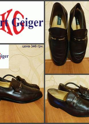 Туфли от kurt geiger, оригинал, кожа р. 43,5