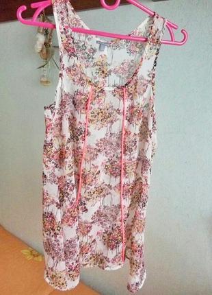 Шифоновая блуза летняя