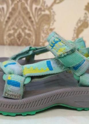 Teva. босоножки, сандалии 22,5 размер, стелька 14 см