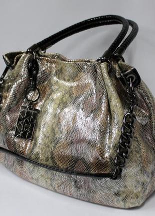 Женская сумка, кожа, натуральная кожа, сумка на плечо, стильная сумка, шкіряна сумка