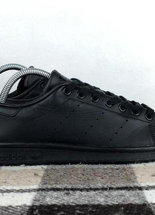 Кроссовки кеды adidas stan smith original чёрные 40.5